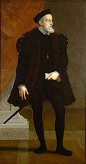 Kaiser Karl V. (1500-1558) als Fünfzigjähriger in ganzer Figur