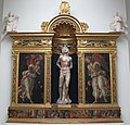 Francesco botticini e antonio rossellino, tabernacolo di s. sebastiano, 1475-80 ca, da collegiata 01.JPG