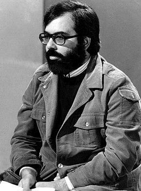 Francis Ford Coppola earned the award for The Godfather Part II. Francis Ford Coppola -1976.jpg