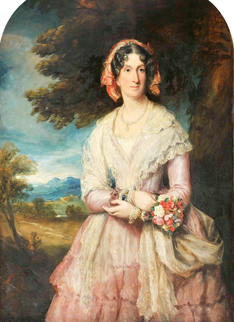 Francis Grant (1803-1878) - Lady Lucy Graham (1793–1875), Countess of Powis - 1180947 - National Trust.jpg