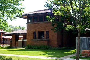 George Barton House - Image: Frank Lloyd Wright Barton House