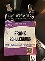 Frank Schulenburg at ASUGSV 2019 in San Diego.jpg