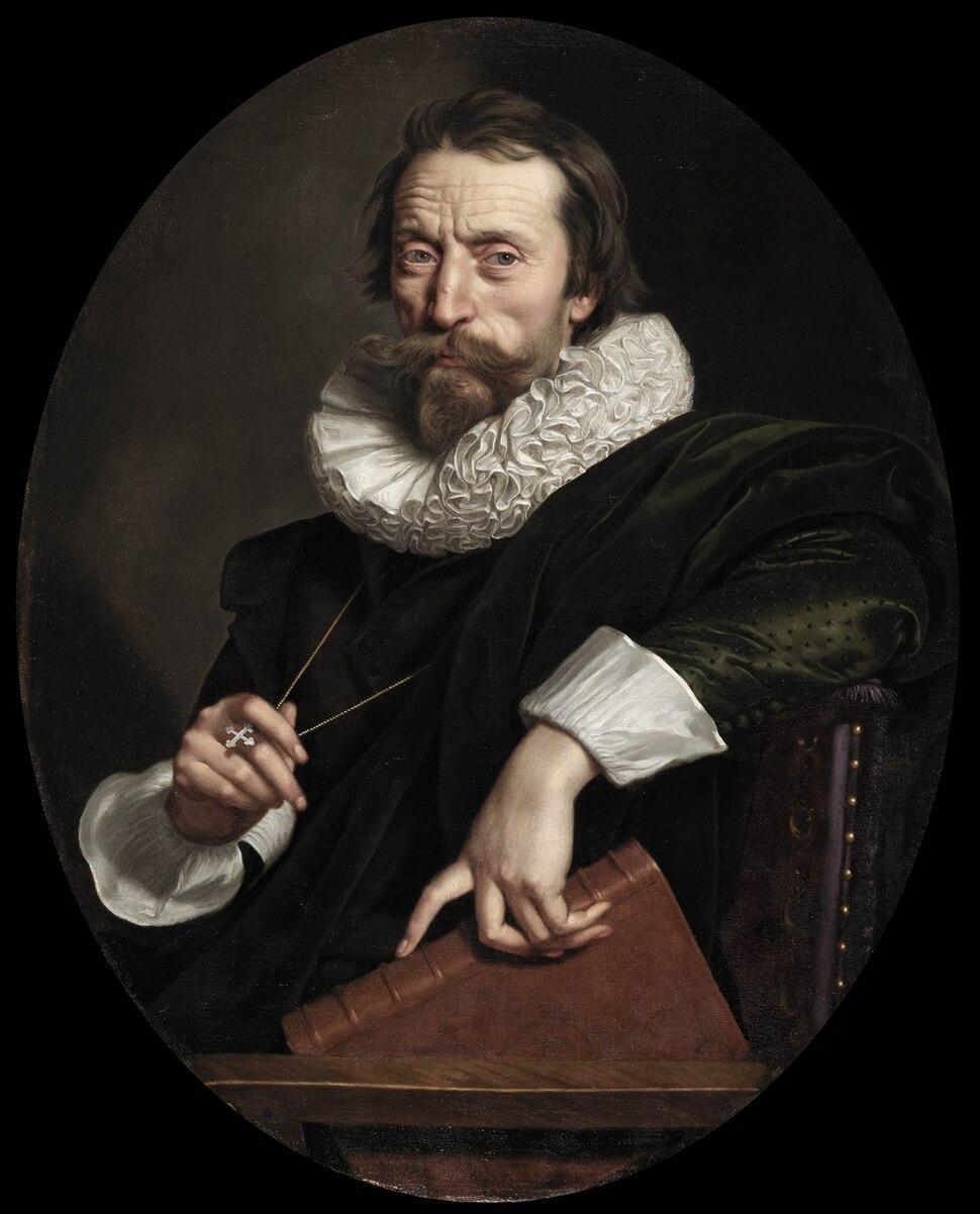 Frans Pourbus the Younger - Portrait of Giovanni Battista Marino