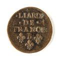 Franskt mynt, 1657 - Skoklosters slott - 109457.tif