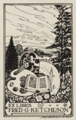Fred G. Ketcheson bookplate by James Blomfield.png