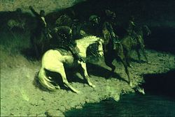 Frederic Remington: Fired On