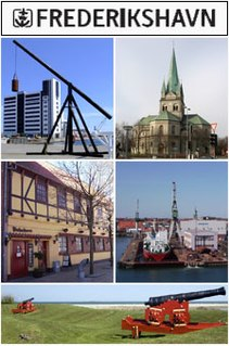 Frederikshavn Town in North Jutland, Denmark
