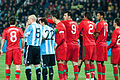 Free kick – Portugal vs. Argentina, 9th February 2011 (2).jpg
