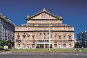 Teatro Colón - Image: Frente del Teatro Colón