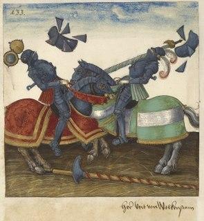 <i>Freydal</i> 16th century uncompleted illustrated prose work