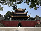 Frontal view of Yueyang Tower, Hunan, China1.jpg