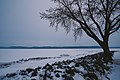 Frozen Lake Pepin - Mississippi River in Winter, Lake City, Minnesota (39757085015).jpg