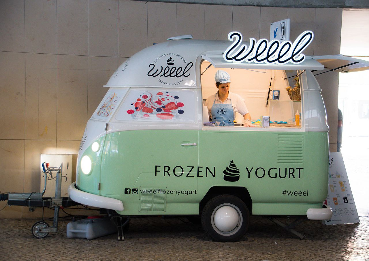 Yogurt Food Truck