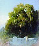 Fyodor Vasilyev Birch grove in the evening 10970.jpg