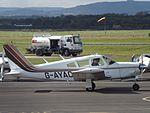 G-AYAC Piper Cherokee Arrow 28R (29674816334).jpg