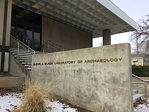 Glenn A. Black Laboratory of Archaeology - Image: GBL