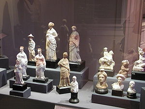 Alexandria National Museum - Part of the collection of statues at the museum