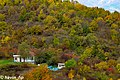 Gabala State Nature Sanctuary mountains and little house view in autumn.jpg