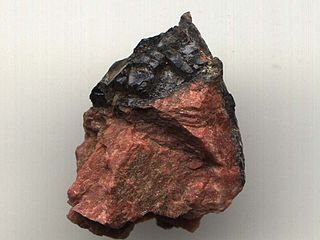 Gadolinite nesosilicate mineral