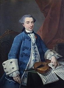 Gaetano Pugnani (1754) (Quelle: Wikimedia)