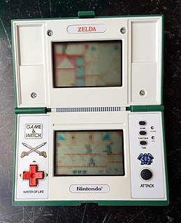 LCD games from <i>The Legend of Zelda</i> series Wikimedia list article