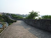 Ganzhou city wall near Yugu Pavilion.jpg