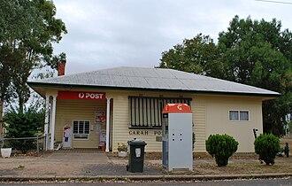 Garah, New South Wales - Post office at Garah