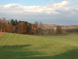 Gardners, Pennsylvania - Fall scene