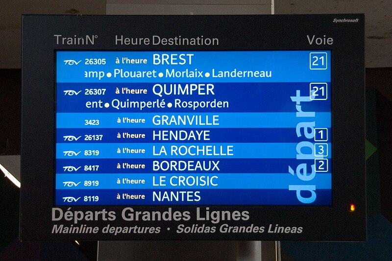 Gare - Trains - Horaires - SNCF - France - SchoolMouv - Géographie - CM2