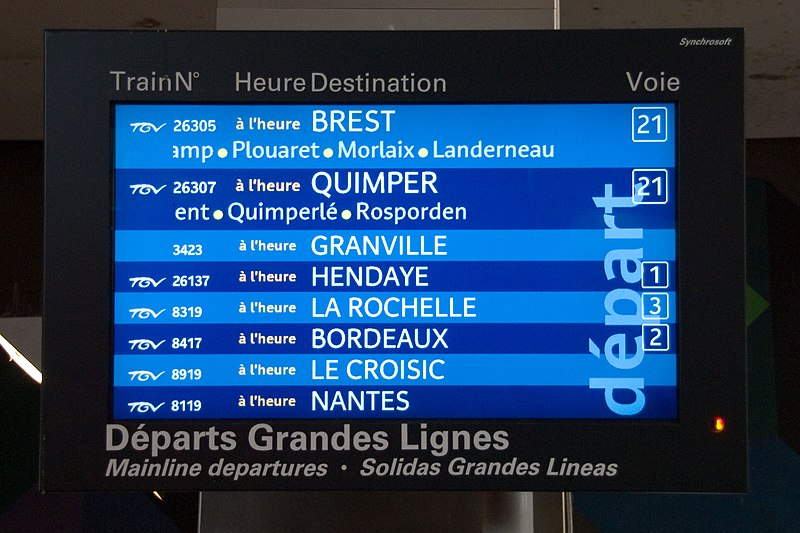 Gare De Nice Ville Arrivees