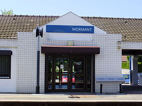 Image illustrative de l'article Gare de Mormant