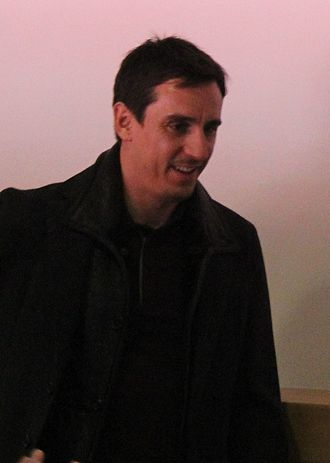 Arsenal F.C.–Manchester United F.C. rivalry - Image: Gary Neville 2012