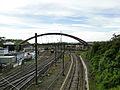 Gasperich - voie ferrée et pont d'Alsace.JPG