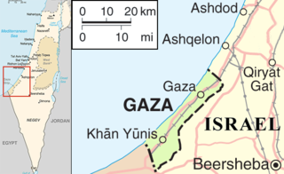 conflict between Gaza and Israel