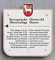 Gedenktafel Domplatz (Brixen) Kreuzgang Münsteranlage.jpg