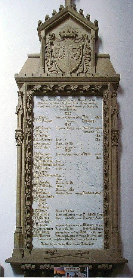File:Gedenktafel Gefallene Krieg 1848-1851 - Schleswig 2008.JPG