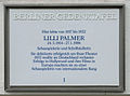 Gedenktafel Hölderlinstr.11 (Weste) Lilli Palmer.jpg