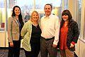 Gender gap panelists at West Virginia University.JPG