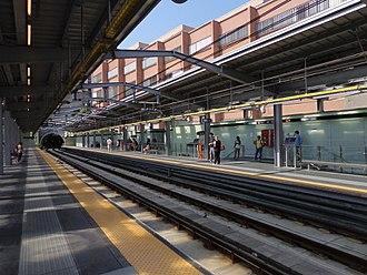 Brignole (Genoa Metro) - Image: Genova metropolitana stazione Brignole