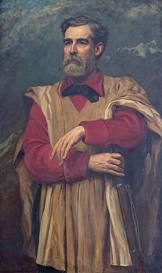 George Earl Church - George Earl Church, painted in 1885