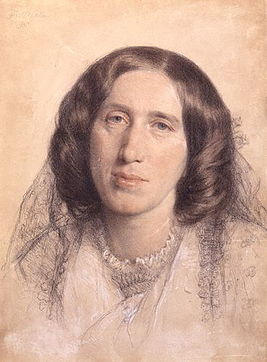 George Eliot (1865) by Frederick William Burton.jpg