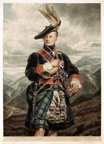 George Sanders - George Gordon, 5th Duke of Gordon