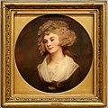 George romney, una lady in abito marrone, la figlia dei parson, 1785 ca.jpg