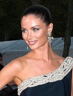 Georgina Chapman English fashion designer and actress