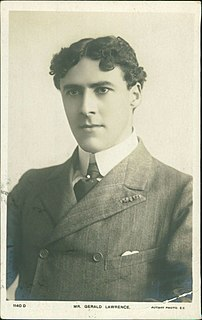 Gerald Lawrence British actor