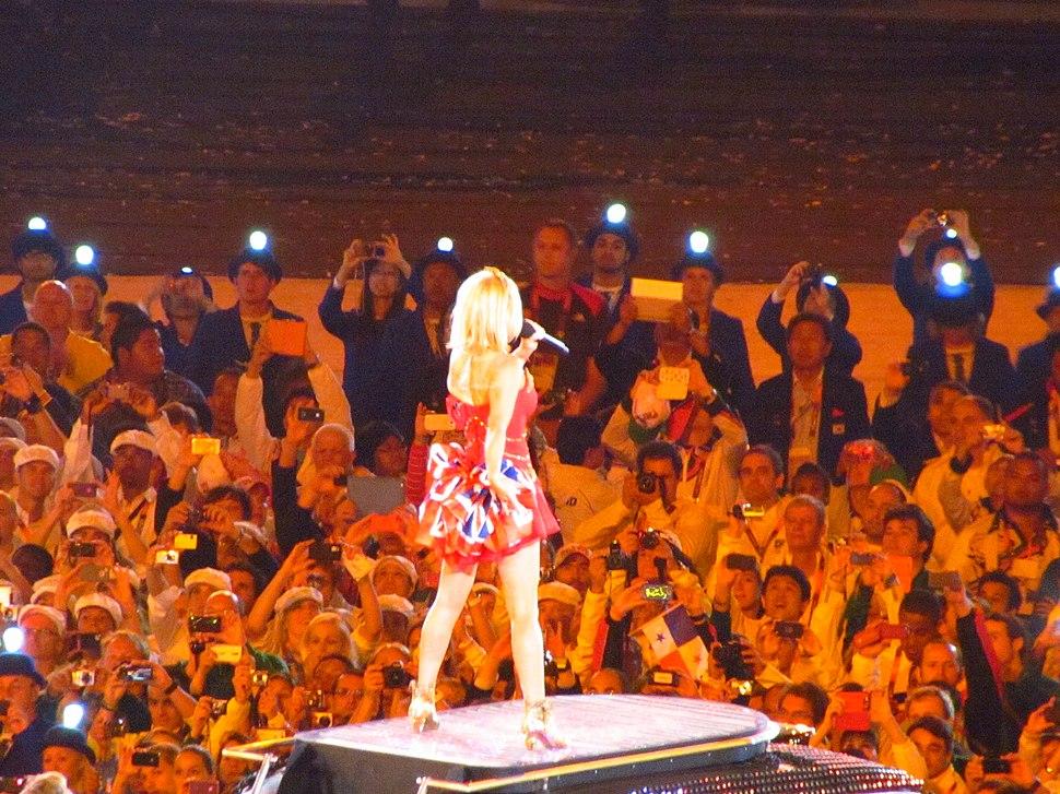 Geri Spice Girls London Olympics 2012. by Rory
