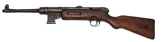 MP 40 - MP 41 with wooden stock