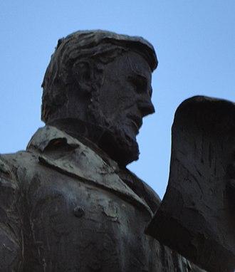 Gerrit Maritz - Statue in Pietermaritzburg