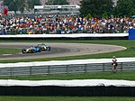 Giancarlo Fisichella and Fernando Alonso 2006 Indianapolis.jpg