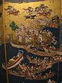Giappone, scuola di kanou mitsunobu, paravento byoubu, 1700-50 ca., 03.JPG
